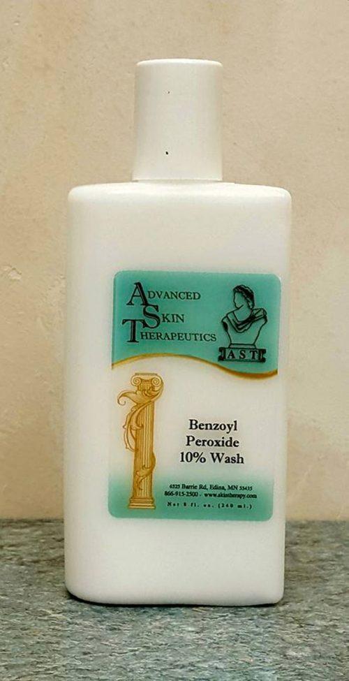 AST Benzoyl Peroxide Wash 10%