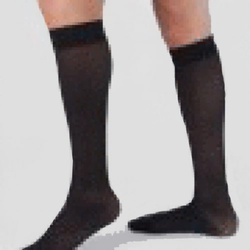 Carolon Health Support Hosiery Knee Size E Black