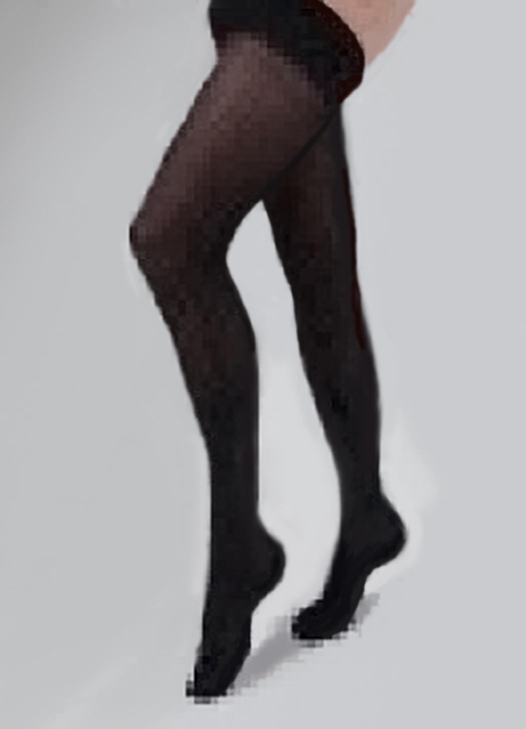 Carolon Health Support Hosiery Thigh Size B Black